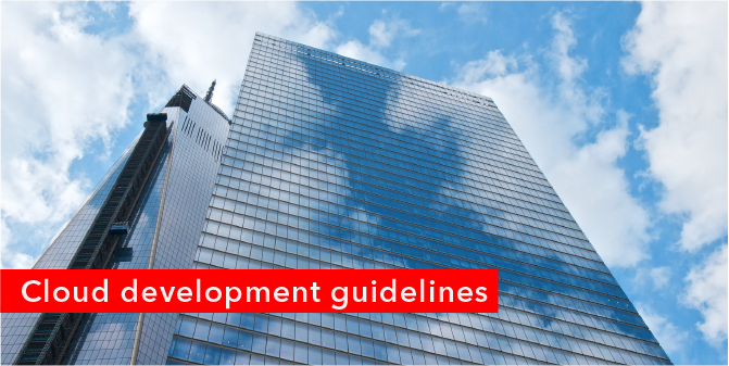 Cloud development guidelines_blog front page