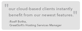 cloud free up technical team - greatsoft quote